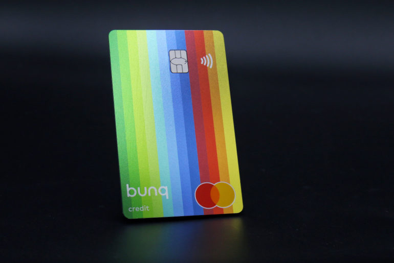 carte travelcard Bunq